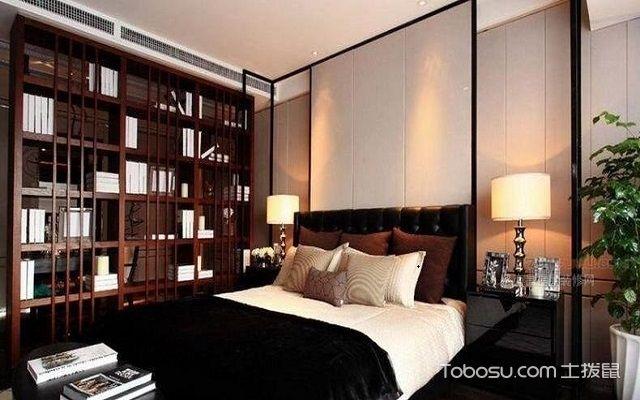 卧室书架设计