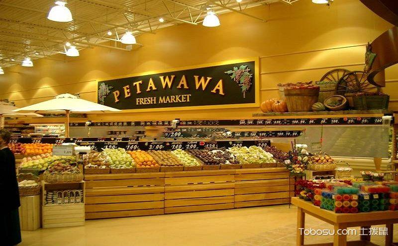 10平米水果店装修图,打造让人拒绝不了的店面