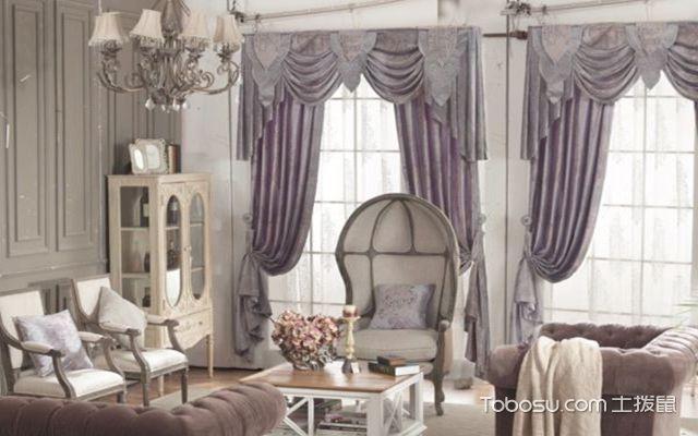 欧式风格窗帘搭配技巧之色彩