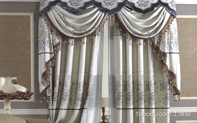 欧式风格窗帘搭配技巧之图案