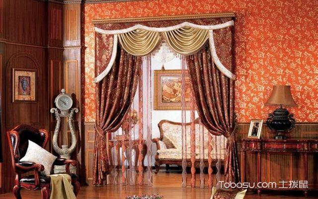 欧式风格窗帘搭配技巧之造型