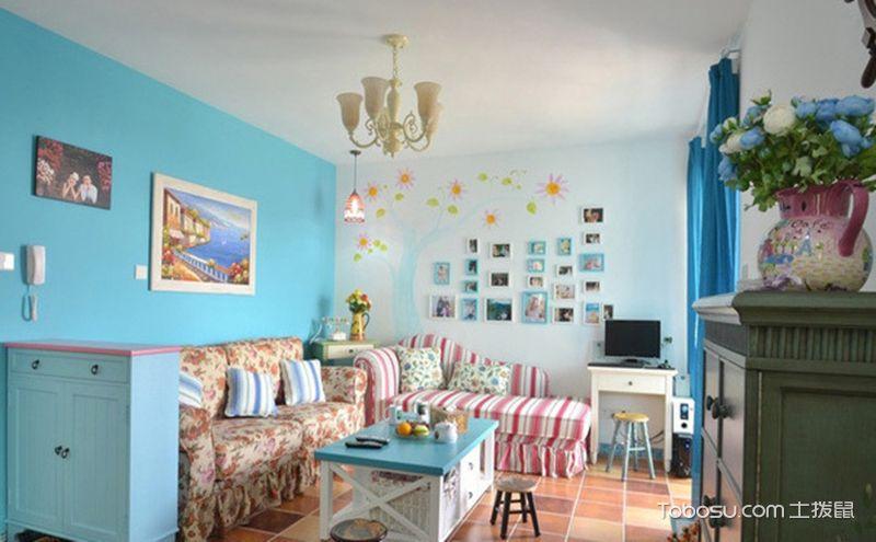 60平小户型二居室装修效果图,生活真的会有诗与远方