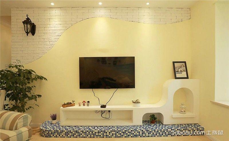 硅藻泥电视背景墙图片,尽享健康时尚生活