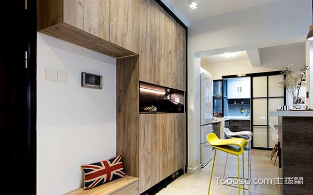 107平米三室两厅装修