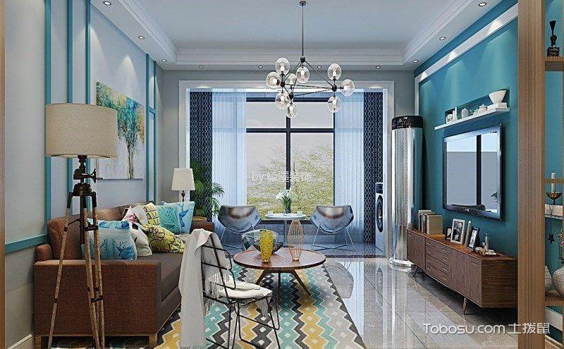 现代简约客厅墙漆颜色搭配,装扮出温馨有技