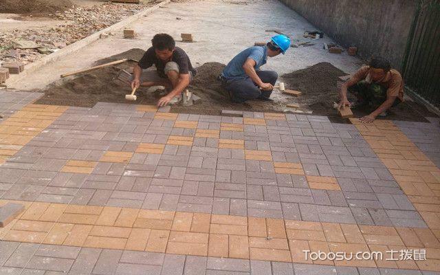 透水砖施工方法