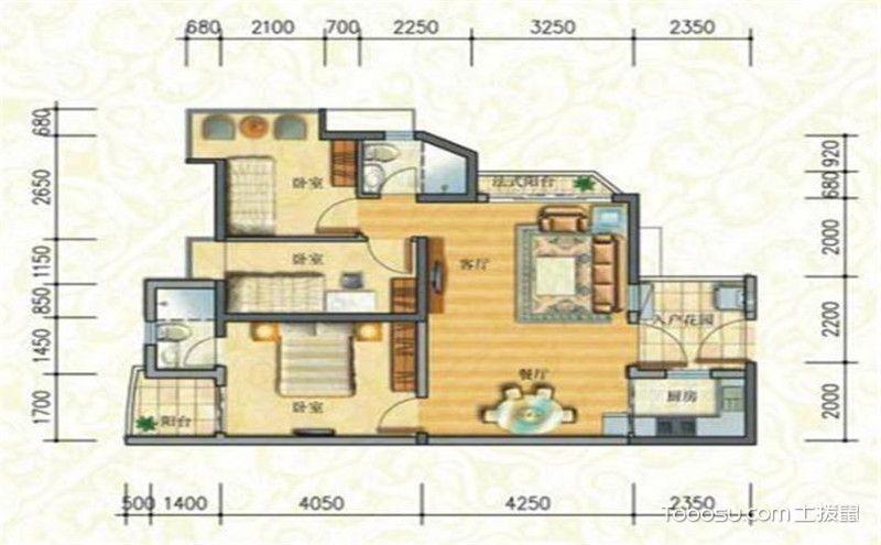 三居室最好的戶型圖,購房前最好看看!