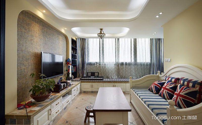 90平三居室装修案例,轻松惬意无忧无虑