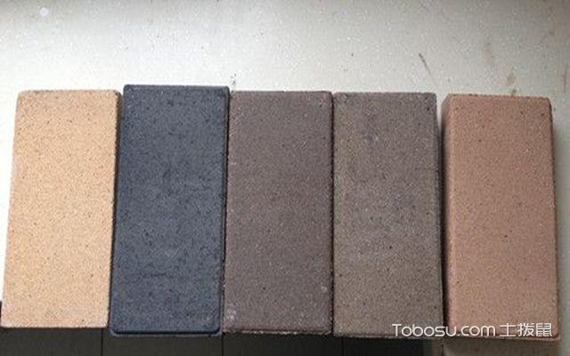 陶土砖的铺装方法之材料