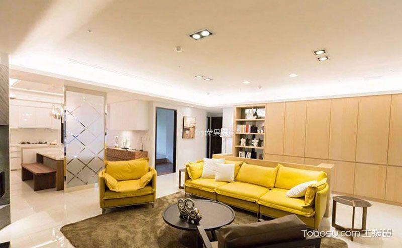 三居室简装装修效果图,11万打造的高品质空间