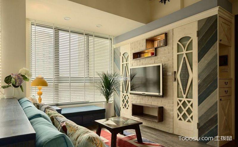 100平田园风格装修效果图,打造清新美好的居家生活