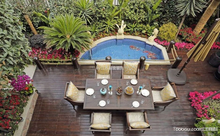 別墅小庭院設計實景圖,讓你更好的享受休閑時光