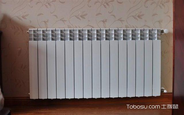 天然气地暖安装和工作示意图