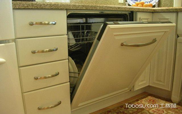 洗碗机使用方法之如何安装