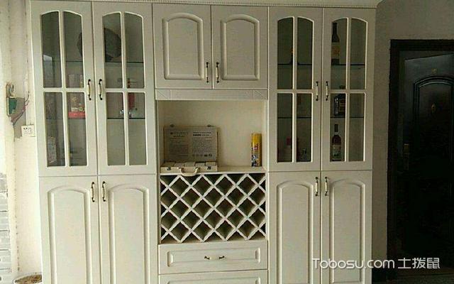 酒柜的设计要点之酒柜门