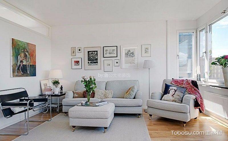 90平小户型简约装修效果图,拥抱阳光的清新三居室