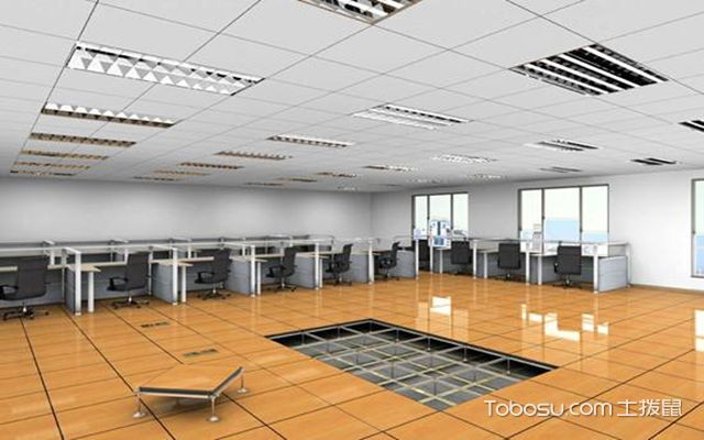 防静电地板的安装方法之完善收尾