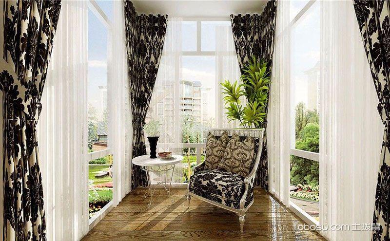 大阳台窗帘怎么选?这八款绝对让您满意