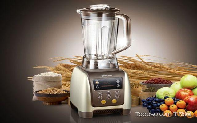 料理机和榨汁机的区别之不同