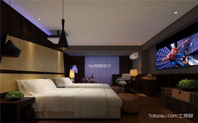 主题酒店装修效果图,品味时尚视觉盛宴
