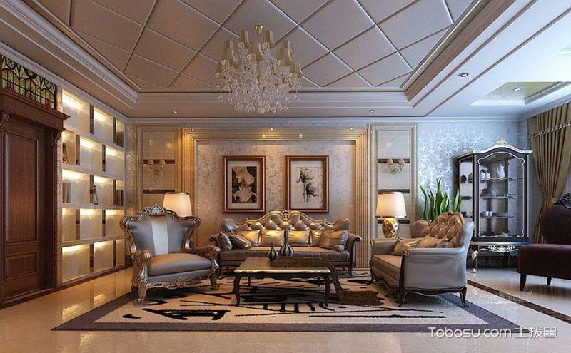 沙发背景墙壁纸效果图,舒适背景才能更舒心哦