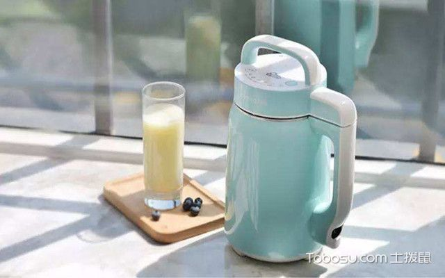 榨汁机和豆浆机的区别