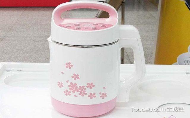 豆浆机怎么用之粉色
