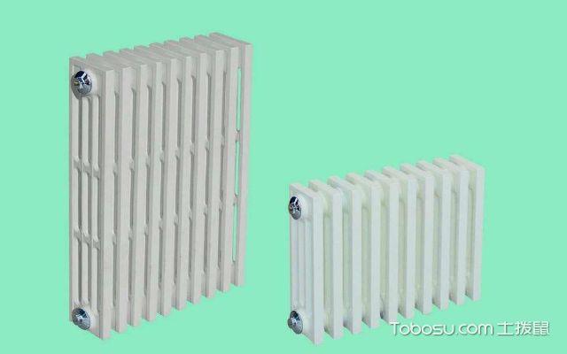钢制散热器与铸铁散热器的区别自重不同