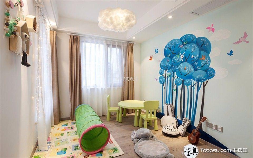 个性儿童房装修效果图,打造属于孩子的童话王国