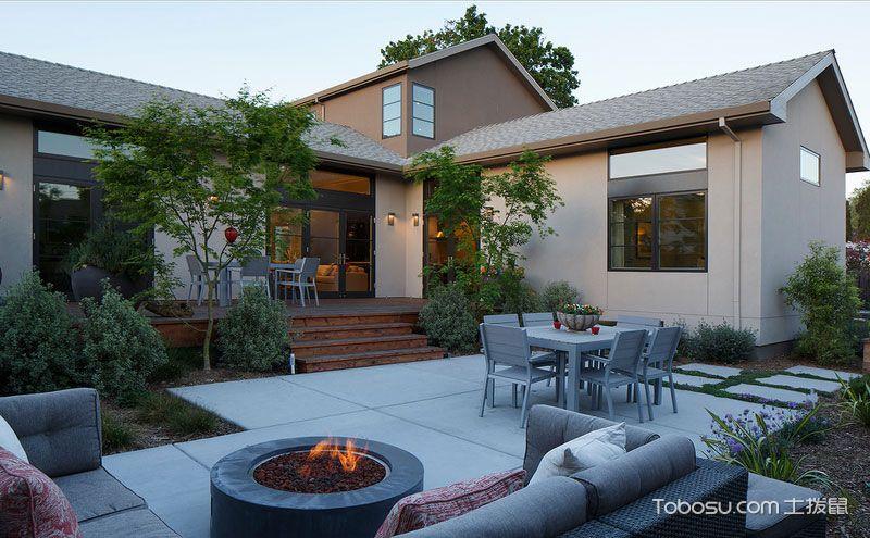 30平米小庭院设计实景图,虽由人作宛自天开图片