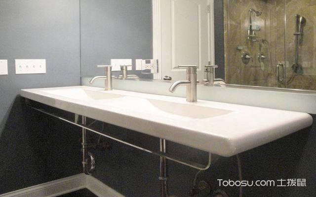 卫生间洗手台尺寸之支架安装