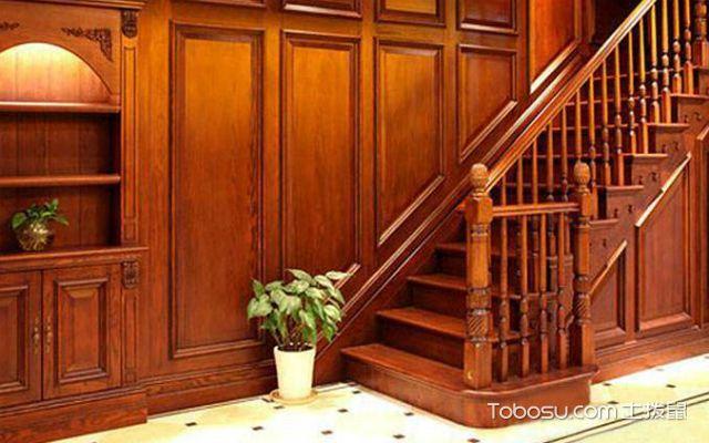 楼梯护墙板哪种好之实木板