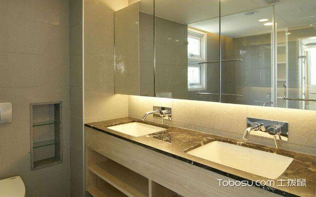 洗手台怎么安装之高度