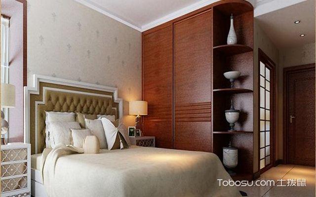 卧室床如何摆放之床头