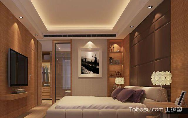 主卧室床的风水忌吊灯