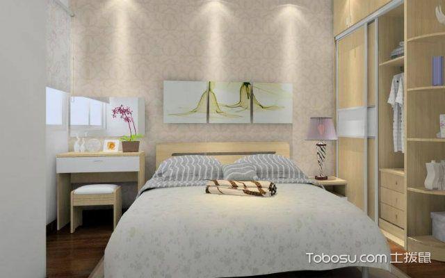 主卧室床的风水忌照片
