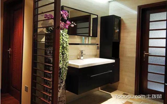 卫生间干湿分离怎么设计之完全分离