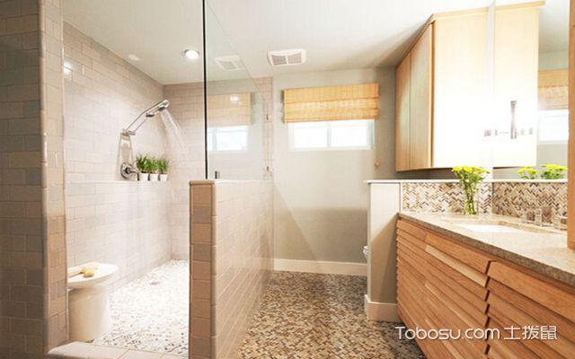 卫生间干湿分离怎么设计之半敞开