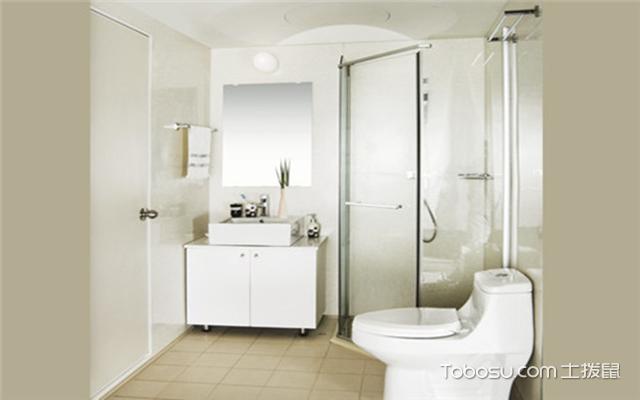 整体浴室尺寸之最小尺寸
