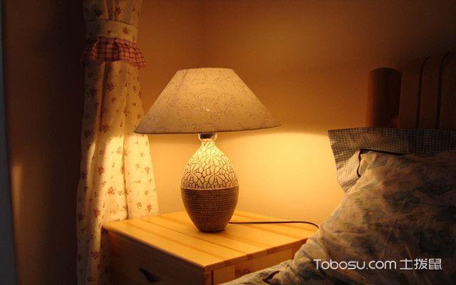 床头灯怎么选购之座灯