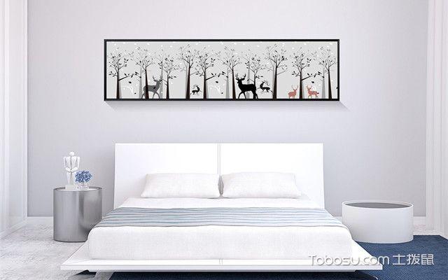 卧室床头挂什么画之自然