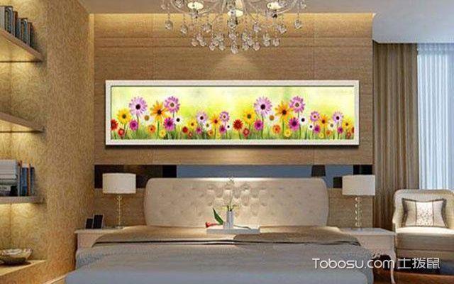床头画尺寸之向日葵