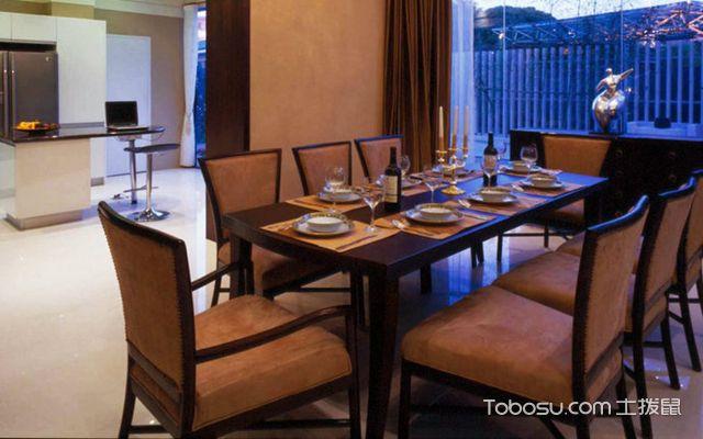 如何选购餐桌之餐厅面积