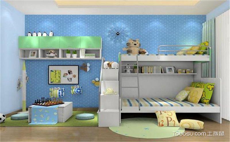 上下床儿童房装修效果图,宝宝的成长基地!
