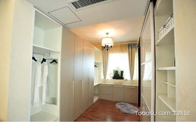小户型衣帽间如何设计之衣柜