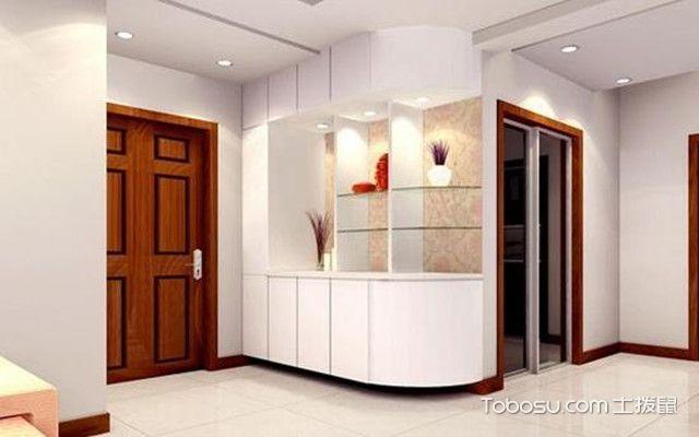 小户型玄关装修设计方法之玄关柜