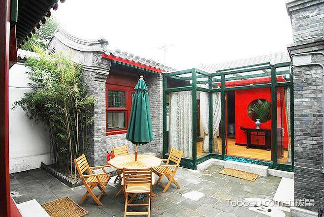悠闲农村小庭院设计实景图