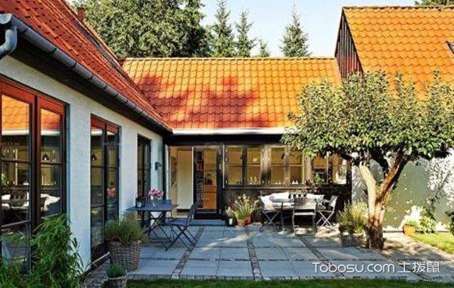 美观农村小庭院设计实景图