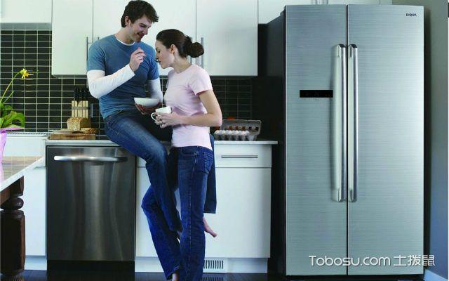 双开门冰箱尺寸不同容量不同尺寸