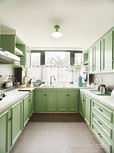 长方形厨房装修